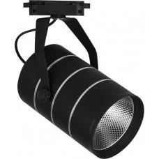 Светодиодный светильник Feron AL112 трековый на шинопровод 12W 4000K 35 градусов черный