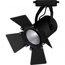 Светодиодный светильник Feron AL110 трековый однофазный на шинопровод 12W 4000K 35 градусов черный