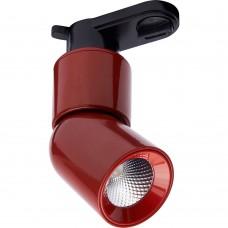 Светодиодный светильник Feron AL114 трековый на шинопровод 10W 4000K 35 градусов красный