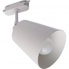 Светильник Feron AL158 трековый на шинопровод под лампу E27, белый