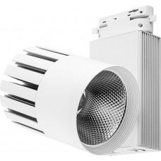 Светодиодный светильник Feron AL105 трековый на шинопровод 30W 4000K, 35 градусов, белый,  3-х фазный