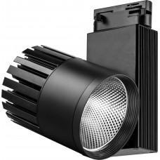 Светодиодный светильник Feron AL105 трековый на шинопровод 40W 4000K, 35 градусов, черный,  3-х фазный