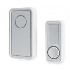 Звонок дверной беспроводной Feron E-379 Электрический 18 мелодий белый с питанием от батареек
