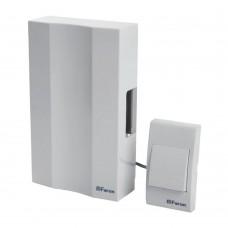 Звонок с кнопкой проводной Feron DB-101 электромеханический белый 230V