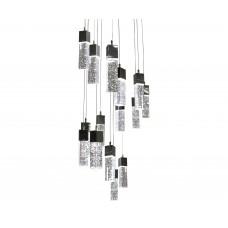Подвесной светильник Kink Light 08510-15А,02(4000K) АКВА хром d50 h300 PowerLed 75W (4000K)
