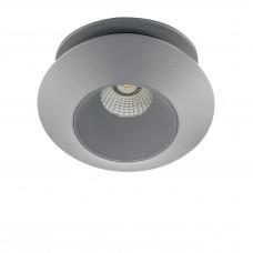 Встраиваемый светодиодный светильник Lightstar 051209 Orbe 15 Вт 1240Lm 4000K Серый