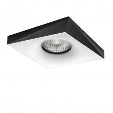 Встраиваемый светильник Lightstar 011006 Miriade Черный-Белый
