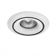 Встраиваемый светильник Lightstar 010016 Levigo Белый-Черный