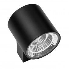 Уличный настенный светильник Lightstar 361672 Paro 16 Вт 1270Lm 3000K Черный