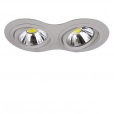 Встраиваемый светодиодный светильник Lightstar 214329 Intero 111 Серый