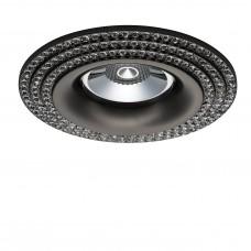 Встраиваемый светильник Lightstar 011977 Miriade Черный хром