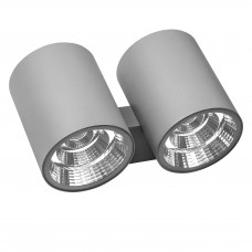 Уличный настенный светильник Lightstar 372594 Paro 60 Вт 4700Lm 4000K Серый