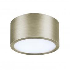 Потолочный светильник Lightstar 211911 Zolla 10 Вт 780Lm 3000K Зеленая бронза IP44