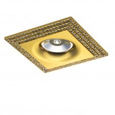 Встраиваемый светильник Lightstar 011982 Miriade Золото