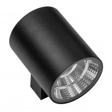 Уличный настенный светильник Lightstar 371574 Paro 2*15 Вт 2350Lm 4000K Черный