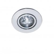 Встраиваемый светодиодный светильник Lightstar 070012 Acuto 1 Вт 90Lm 3000K Хром