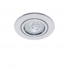 Встраиваемый светодиодный светильник Lightstar 070032 Acuto 3 Вт 270Lm 3000K Хром