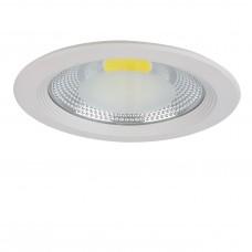 Встраиваемый светодиодный светильник Lightstar 223202 Forto 20 Вт 1900Lm 3000K Белый