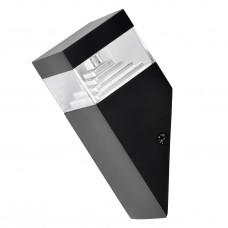Уличный настенный светильник Lightstar 377607 Raggio 6 Вт 300Lm 4000K Черный