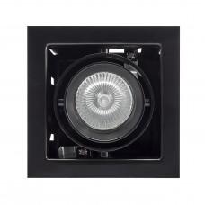 """Встраиваемый светильник """"кардан"""" Lightstar 214018 Cardano Черный"""