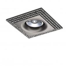 Встраиваемый светильник Lightstar 011987 Miriade Черный хром