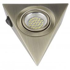 Мебельный светильник Lightstar 003141 Mobiled Ango 3,5 Вт 270Lm 3000K Бронза зеленая