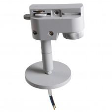 Трековое крепление Lightstar 592059 ASTA с 1-фазным адаптером к 21443х/21448x/21449x СЕРЫЙ