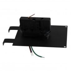 Трековое крепление Lightstar 594037 ASTA с 3-фазным адаптером к 05121x/05131x ЧЕРНЫЙ