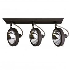 Потолочный светильник Lightstar 210337 Varieta 9 Хром; Черный