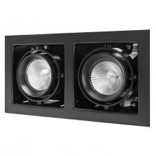 """Встраиваемый светильник """"кардан"""" Lightstar 214028 Cardano Черный"""