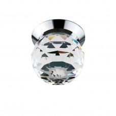 Встраиваемый светодиодный светильник Lightstar 070102 Gemma 1 Вт 90Lm 3000K Хром