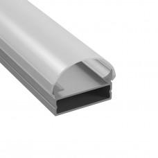 Профиль Lightstar 409319 с полукруглым рассеивателем для светодиодной ленты, материал: алюминий, 1шт =3м