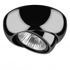 Встраиваемый светильник Lightstar 011817 Ocula Черный хром