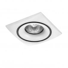 Встраиваемый светильник Lightstar 010036 Levigo Белый-Черный