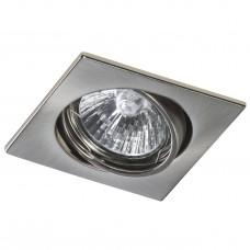 Встраиваемый светильник Lightstar 011945 Lega 16 Никель