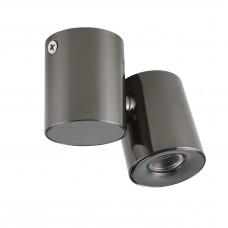 Потолочный светильник Lightstar 051137 Punto 3 Вт 190Lm 3000K Черный хром IP40