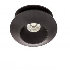 Встраиваемый светодиодный светильник Lightstar 051307 Orbe 15 Вт 1240Lm 3000K Черный