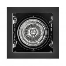 """Встраиваемый светильник """"кардан"""" Lightstar 214118 Cardano Черный"""