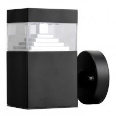Уличный настенный светильник Lightstar 377617 Raggio 6 Вт 300Lm 4000K Черный