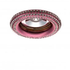Встраиваемый светильник Lightstar 011998R Miriade 6,5 Вт Розовый металлик