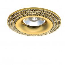 Встраиваемый светильник Lightstar 011972 Miriade Золото