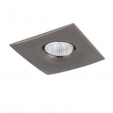 Встраиваемый светильник Lightstar 010038 Levigo Черный хром