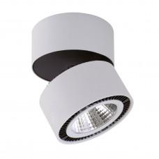 Светодиодный спот Lightstar 214859 Forte Muro 40 Вт 3400Lm 4000K Черный; Серый