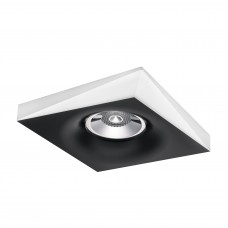 Встраиваемый светильник Lightstar 011005 Miriade Черный-Белый