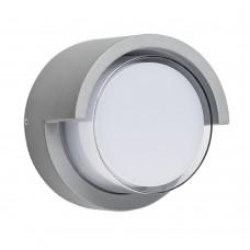 382194 Светильник PALETTO CYL LED 15W 550LM 180G СЕРЫЙ 4000K IP54 (в комплекте)