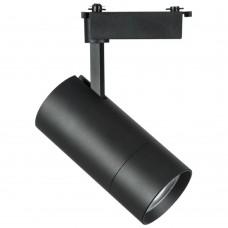229437 Светильник для 1-фазного трека VOLTA LED COB 40W 3600LM 18-60G ЧЕРНЫЙ 3000K (в комплекте)