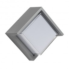 382294 Светильник PALETTO QUAD LED 15W 550LM 180G СЕРЫЙ 4000K IP54 (в комплекте)