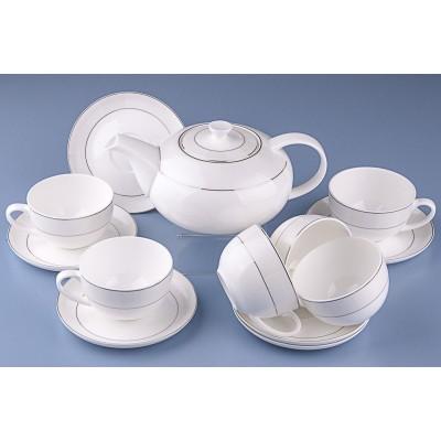 Чайный сервиз Royal Aurel Кружево арт. 111