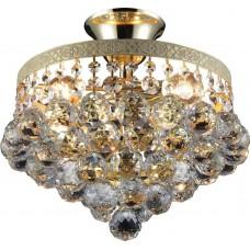 Люстра потолочная Vivien TL7230X-04WG Toplight золотой