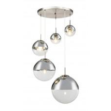 Светильник подвесной Glass TL1203H-05CH Toplight матовый никель